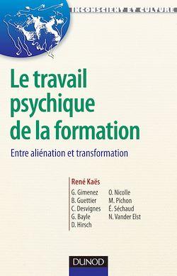 Le travail psychique de la formation