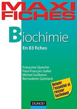 Maxi fiches de biochimie