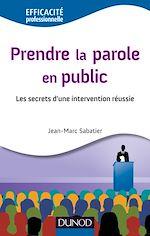 Download this eBook Prendre la parole en public