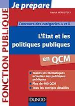 Téléchargez le livre :  L'Etat et les politiques publiques en QCM