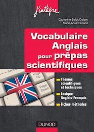 Téléchargez le livre :  Vocabulaire anglais pour les prépas scientifiques