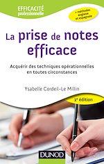 Download this eBook La prise de notes efficace - 2e éd.