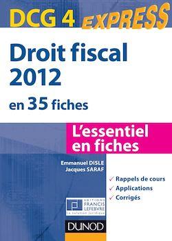 Droit fiscal DCG 4 - 2012 - 4e éd.