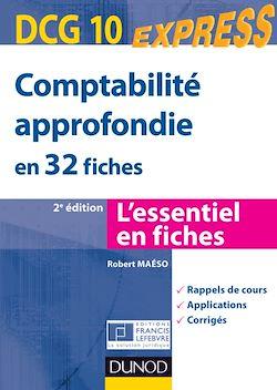 Comptabilité approfondie DCG 10 - 2e éd.