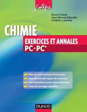 Téléchargez le livre :  Chimie - Exercices et annales PC-PC*