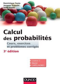 Calcul des probabilités - 3e édition