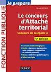 Télécharger le livre :  Le concours d'attaché territorial - 4e éd.