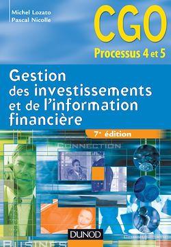 Gestion des investissements et de l'information financière - 7e édition