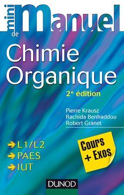 Mini manuel de Chimie organique - 2e édition