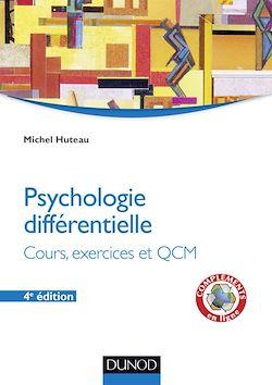 Psychologie différentielle - 4e éd.