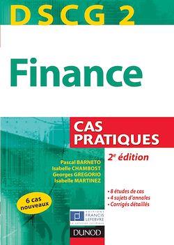 DSCG 2 - Finance - 2e édition