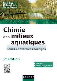 Téléchargez le livre :  Chimie des milieux aquatiques - 5e édition