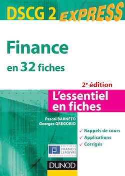 Finance DSCG 2 - 2e éd.