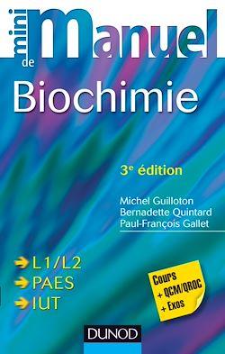 Mini Manuel de Biochimie - 3e édition