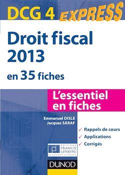 Droit fiscal - DCG 4 - 2013 - 5e éd.