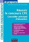 Télécharger le livre :  Réussir le concours CPE (Conseiller principal d'éducation)
