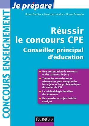 Téléchargez le livre :  Réussir le concours CPE (Conseiller principal d'éducation)