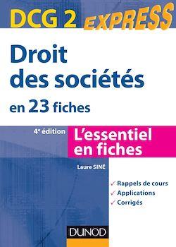 Droit des sociétés - DCG 2 - 4e éd.