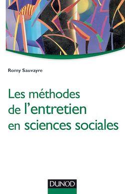 Les méthodes de l'entretien en sciences sociales