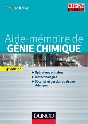 Téléchargez le livre :  Aide-mémoire de génie chimique - 4e éd.
