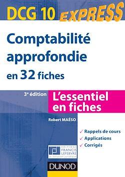Comptabilité approfondie DCG 10 - 3e édition