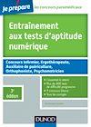 Télécharger le livre :  Entraînement aux tests d'aptitude numérique - 3e édition