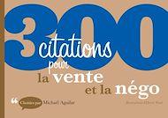 Téléchargez le livre :  300 citations pour la vente et la négo
