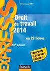 Télécharger le livre :  Droit du travail 2014 - 18e éd.