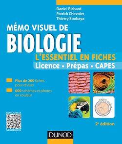 Mémo visuel de biologie - 2e édition