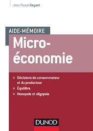 Téléchargez le livre :  Aide-mémoire - Microéconomie