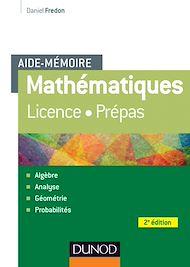 Téléchargez le livre :  Aide-Mémoire - Mathématiques - 2e éd.