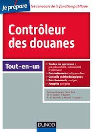 Téléchargez le livre :  Contrôleur des douanes - Concours externe et interne