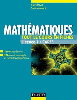 Mathématiques - Tout le cours en fiches niveau L1