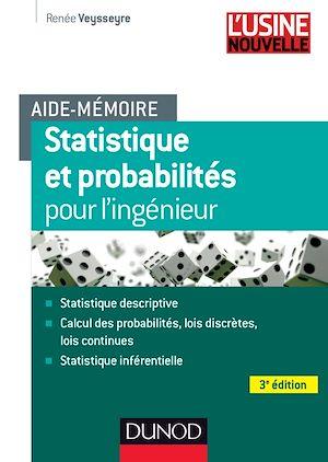 Téléchargez le livre :  Aide-mémoire - Statistique et probabilités pour les ingénieurs - 3ed