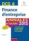 Télécharger le livre :  DCG 6 - Finance d'entreprise 2015