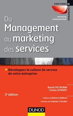 Du management au marketing des services - 3e éd.