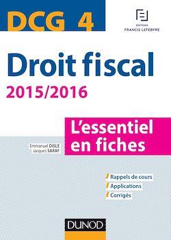 DCG 4 - Droit fiscal - 2015/2016 - 7e éd.