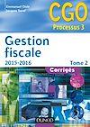 Télécharger le livre :  Gestion fiscale 2015-2016 - Tome 2 - 14e éd.