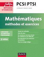 Télécharger cet ebook : Mathématiques Méthodes et Exercices PCSI-PTSI - 3e éd.