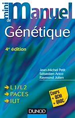 Télécharger cet ebook : Mini Manuel de Génétique - 4e éd