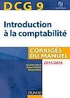 Télécharger le livre :  DCG 9 - Introduction à la comptabilité 2015/2016 - 7e édition
