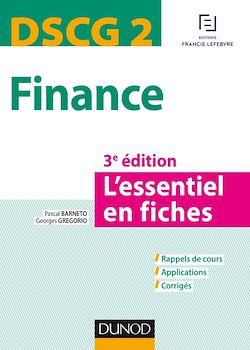 DSCG 2 - Finance - 3e éd.