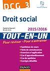 DCG 3 - Droit social 2015/2016 - 8e éd.
