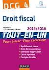 DCG 4 - Droit fiscal 2015/2016 - 9e éd