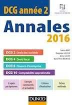 Télécharger cet ebook : DCG Année 2 - Annales 2016