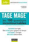 Télécharger le livre : TAGE MAGE® Les 100 questions incontournables