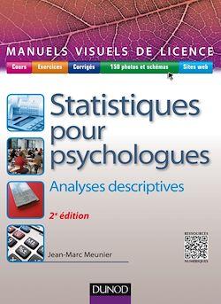 Manuel visuel de statistiques pour psychologues - 2e éd.