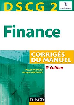 DSCG 2 - Finance - 5e édition