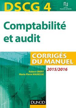 DSCG 4 - Comptabilité et audit - 2015/2016