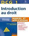 Télécharger le livre :  DCG 1 - Introduction au droit 2016/2017 - 10e éd. - Manuel et Applications, QCM